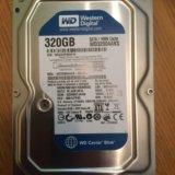 Жёсткий  диск wd3200aaks  320gb. Фото 1. Сургут.
