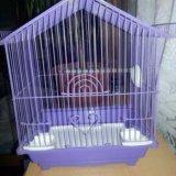 Клетка для попугайчика. Фото 1.