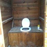 Летний душ-туалет. Фото 2.