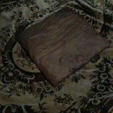 Коричневая подушка. Фото 1.