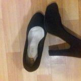 Черные туфли. Фото 1.