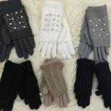 Новые перчатки с камнями. Фото 1. Новосибирск.