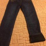 Продам абсолютно новые мужские утеплённые джинсы. Фото 2. Зеленоград.