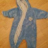 Мохнушка голубая р 56. Фото 1.