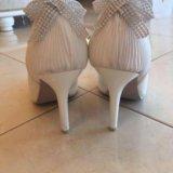 Туфли свадебные. Фото 2.