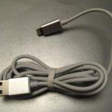 Магнитный usb кабель с индикацией для iphone. Фото 1.