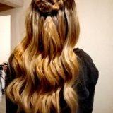 Прически на основе кос. Фото 1.