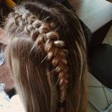 Прически на основе кос. Фото 2.