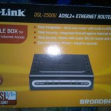 D-link dsl-2500u adsl2+ ethernet router. Фото 1. Казань.