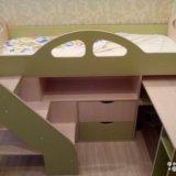 Детска кровать кд-4 альфа. Фото 1.