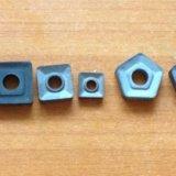 Сменные пластины ( твёрдый сплав). Фото 1.
