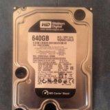 Жесткий диск wd 640gb. Фото 1.