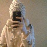 Новая шапочка теплая. Фото 2.