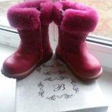 Зимние ботиночки на девочку. Фото 1. Омск.