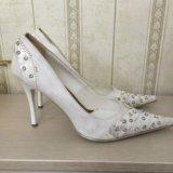 Туфли женские свадебные. Фото 2.