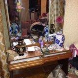 Зеркало с ящиками. Фото 1.