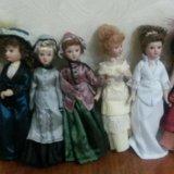 Куклы фарфоровые. Фото 2.
