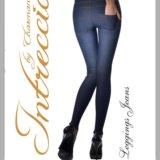 Легинсы джинс бренда шарманте. Фото 1.