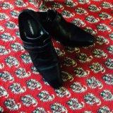 Туфли мужские черные. Фото 2.