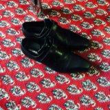 Туфли мужские черные. Фото 1.