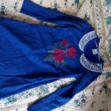 Платье б/у, разм 122—128, цена 500 р. Фото 1.