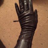 Перчатки кожаные. Фото 1. Москва.