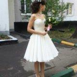 Свадебное- вечернее платье. Фото 1.