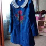 Платье б/у, разм 122—128, цена 500 р. Фото 3.
