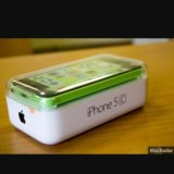 Коробка с комплектом от iphone 5c. Фото 3.