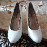 Туфли белые. Фото 2.