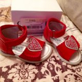 Детская обувь р19 (босоножки) cherie(черри). Фото 2.