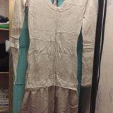 Платье intimissimi шерстяное с атласной юбкой. Фото 3.