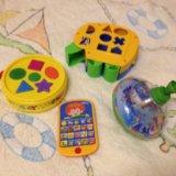 Много игрушек для малышей. Фото 2.