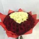 101 роза сердце. Фото 2.