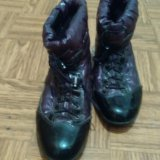 Ботинки фиолетовые. Фото 1. Красноярск.