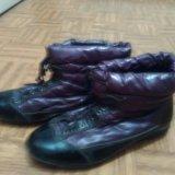 Ботинки фиолетовые. Фото 2. Красноярск.