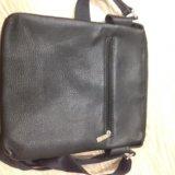 Мужская сумка, эко-кожа. Фото 3.