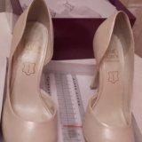 Свадебные туфли 36р. Фото 1.