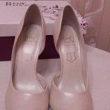 Свадебные туфли 36р. Фото 4.