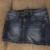 Новая джинсовая юбка. Фото 1. Сочи.