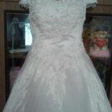 Платье свадебное р 46-50. Фото 2. Тольятти.