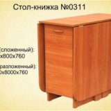 Столы-книжки от склада. Фото 1. Омск.