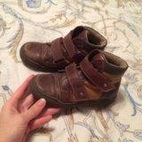 Утеплённые ботинки 30. Фото 1.
