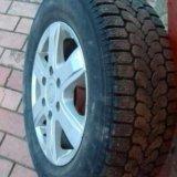 Зимние колеса на хендай старекс литые. Фото 2.