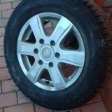 Зимние колеса на хендай старекс литые. Фото 1.