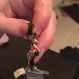 Серьги золотые с бриллиантами и сапфирами. Фото 3. Балашиха.
