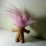 Троль с розовыми волосами. Фото 2.
