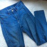 Джинсы h&m high waist ( завышенная талия. Фото 1.