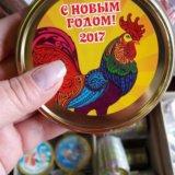 Медаль на ленте символ года 2017 петух. Фото 4. Санкт-Петербург.