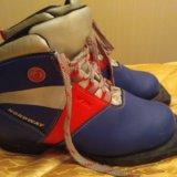 Детские лыжные ботинки, 35 р. Фото 1.